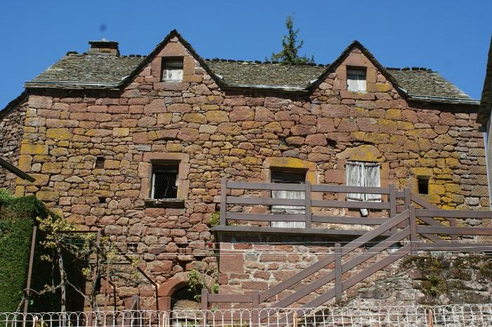 Gachoux, maison ancienne.