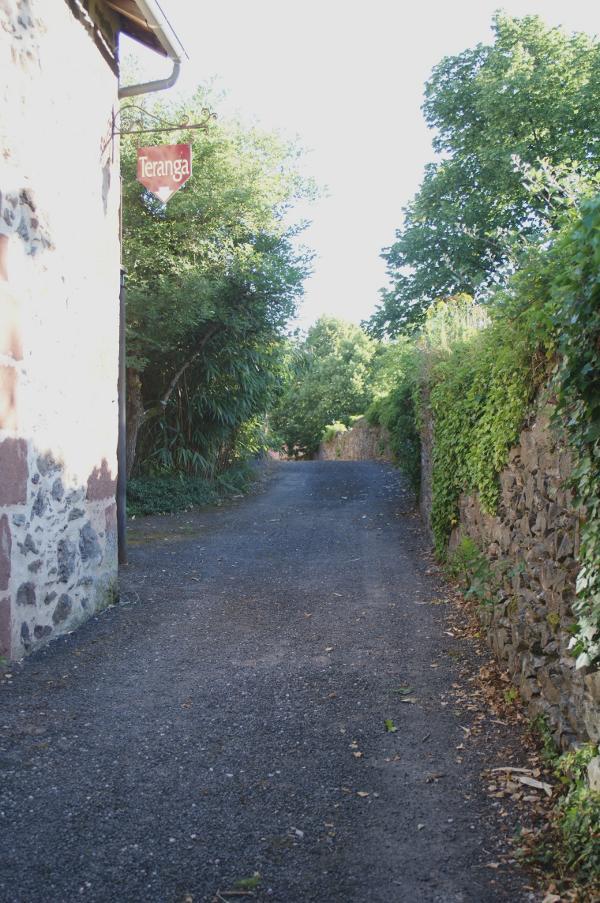 Chemin vers Campagnac par la Resse